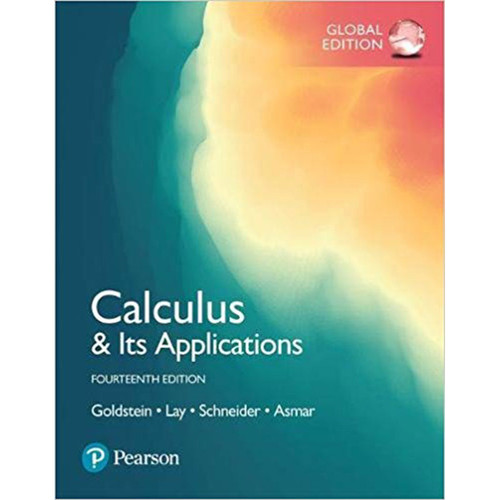 Calculus & Its Applications (14th Edition) David Schneider, David Lay , Nakhle Asmar Larry Goldstein | 9781292229041