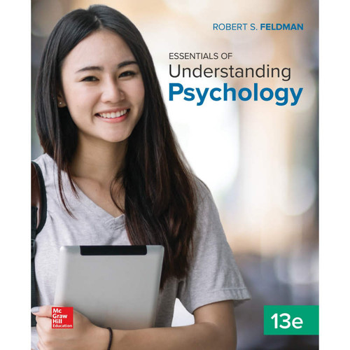 Essentials of Understanding Psychology (13th Edition) Robert S Feldman | 9781260194616