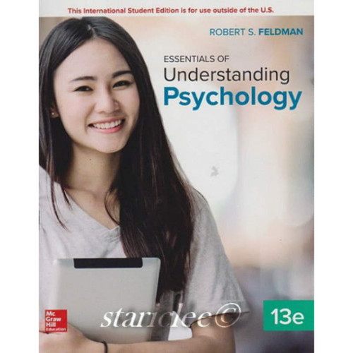 Essentials of Understanding Psychology (13th Edition) Robert S Feldman | 9781260092073