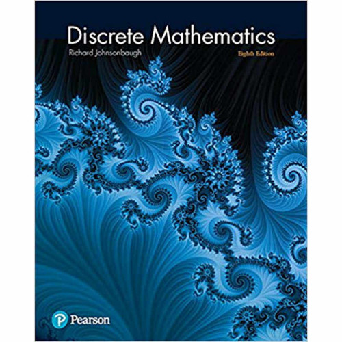 Discrete Mathematics (8th Edition) Richard Johnsonbaugh | 9780321964687