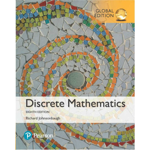 Discrete Mathematics (8th Edition) Richard Johnsonbaugh | 9781292233703