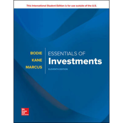 Essentials of Investments (11th Edition) Zvi Bodie | 9781260288391