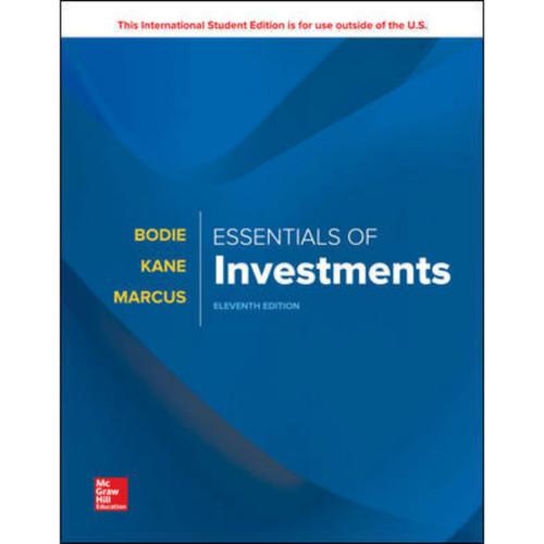 Essentials of Investments (11th Edition) Zvi Bodie | 9781260288391