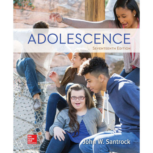 Adolescence (17th Edition) John Santrock   9781260058789