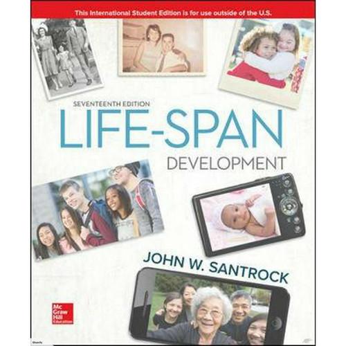 Life-Span Development (17th Edition) John Santrock | 9781260092080