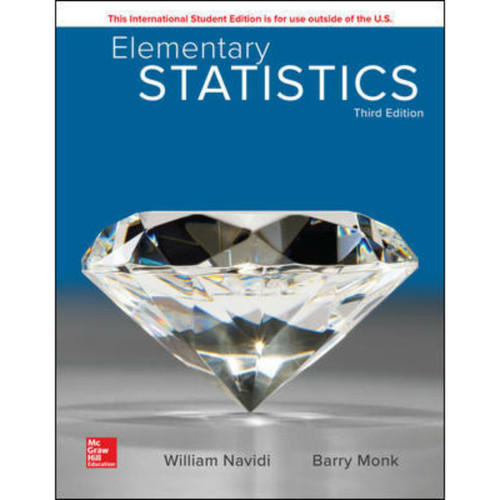 Elementary Statistics (3rd Edition) William Navidi and Barry Monk | 9781260092561