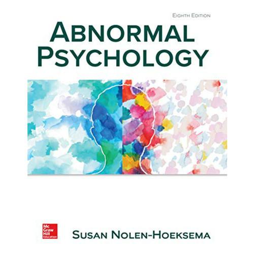 Abnormal Psychology (8th Edition) Susan Nolen-Hoeksema | 9781260080469