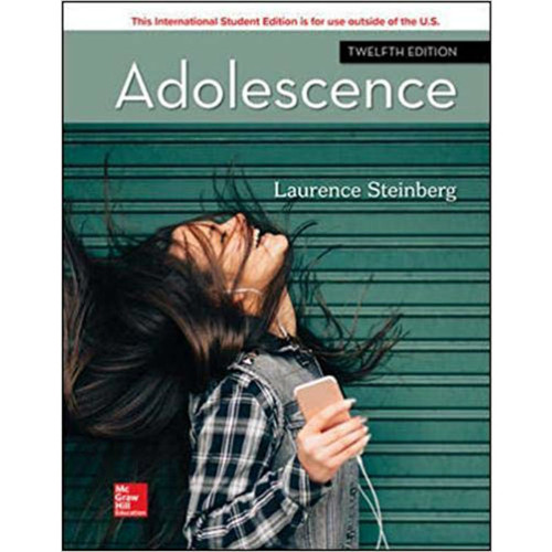 Adolescence (12th Edition) Laurence Steinberg | 9781260565676
