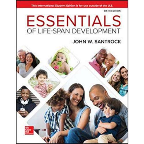 Essentials of Life-Span Development (6th Edition) John Santrock | 9781260565645