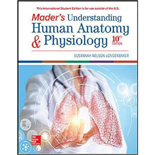 Mader's Understanding Human Anatomy & Physiology (10th Edition) Susannah Longenbaker | 9781260565997