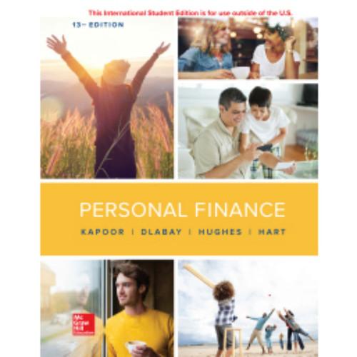 Personal Finance (13th Edition) Jack Kapoor, Les Dlabay and Robert J. Hughes | 9781260569933