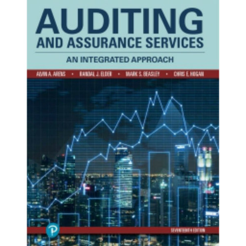 Auditing and Assurance Services (17th Edition) Randal Elder, Mark Beasley, Chris Hogan, Alvin Arens | 9780134897431