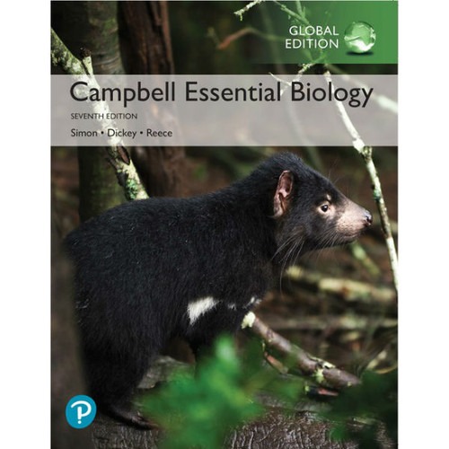Campbell Essential Biology (7th Edition) Eric J. Simon, Jean L. Dickey | 9781292307091