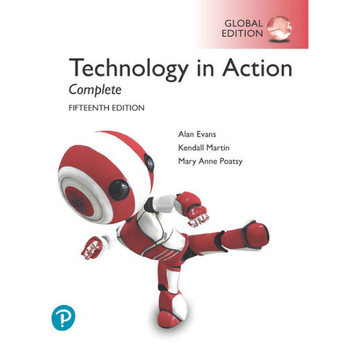 Technology In Action Complete (15th Edition) Alan Evans, Kendall Martin | 9781292311883