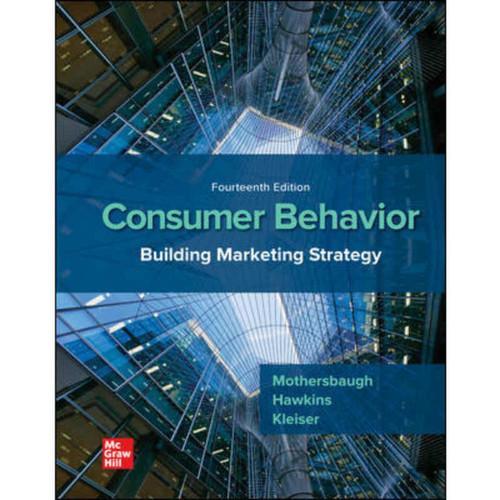 Consumer Behavior: Building Marketing Strategy (14th Edition) Delbert Hawkins | 9781260158199