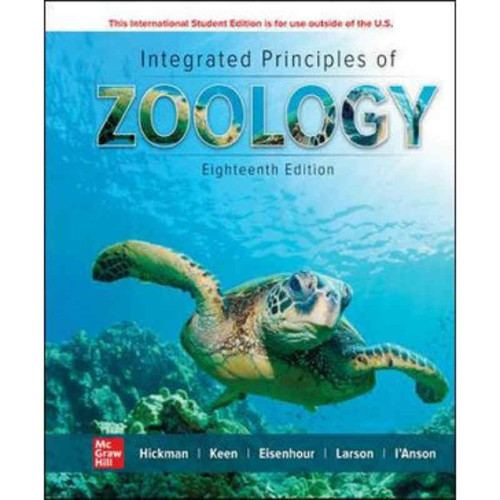 Integrated Principles of Zoology (18th Edition) Hickman   9781260565973