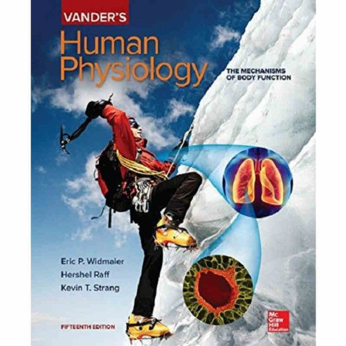 Vander's Human Physiology (15th Edition) Eric Widmaier | 9781260231571