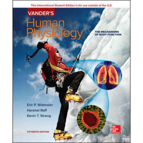 Vander's Human Physiology (15th Edition) Eric Widmaier | 9781260085228