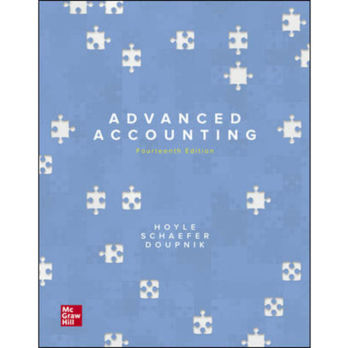 Advanced Accounting (14th Edition) Joe Ben Hoyle, Thomas Schaefer and Timothy Doupnik   9781260247824