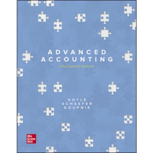 Advanced Accounting (14th Edition) Joe Ben Hoyle, Thomas Schaefer and Timothy Doupnik   9781260726442