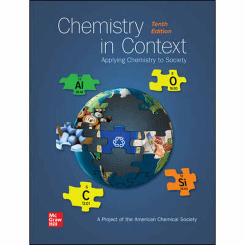Chemistry in Context (10th Edition) American Chemical Society   9781260240849