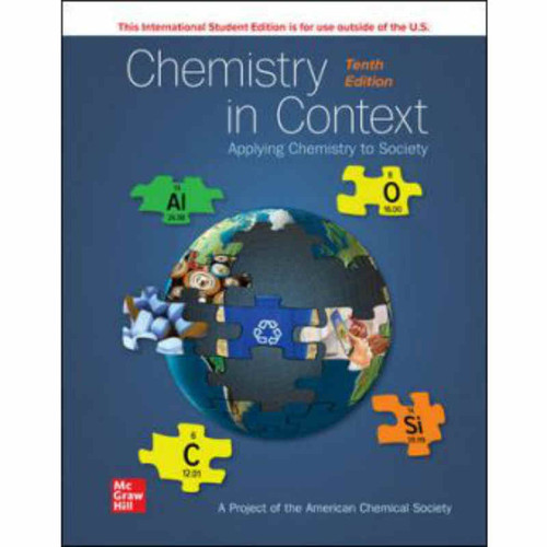 Chemistry in Context (10th Edition) American Chemical Society   9781260570816