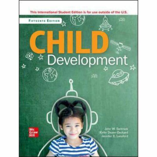 ISE Child Development: An Introduction (15th Edition) John Santrock | 9781260571462
