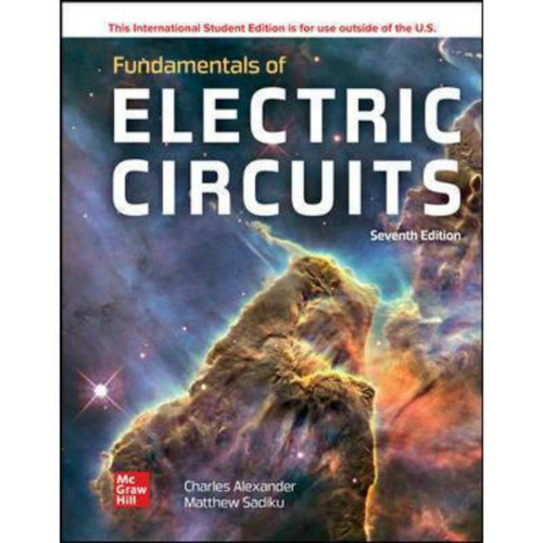 ISE Fundamentals of Electric Circuits (7th Edition) Charles Alexander | 9781260570793