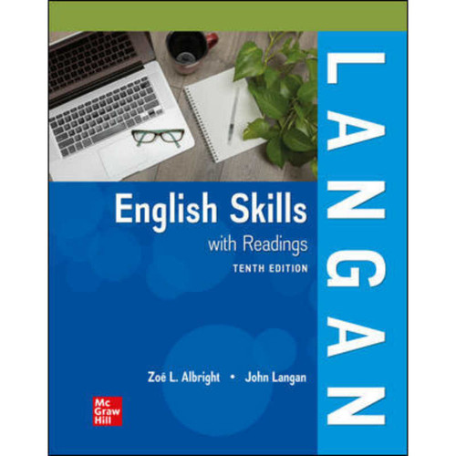 English Skills with Readings (10th Edition) John Langan and Zoe Albright | 9781260257120