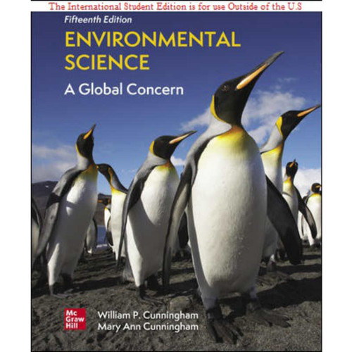 ISE Environmental Science: A Global Concern (15th Edition) William Cunningham and Mary Cunningham   9781260575101