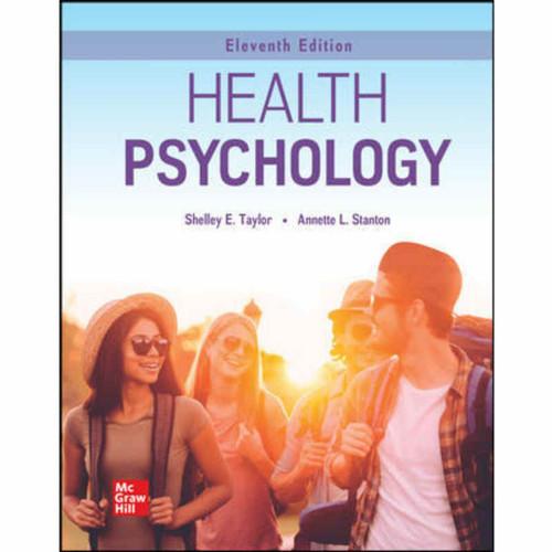 Health Psychology (11th Edition) Shelley Taylor   9781260834284
