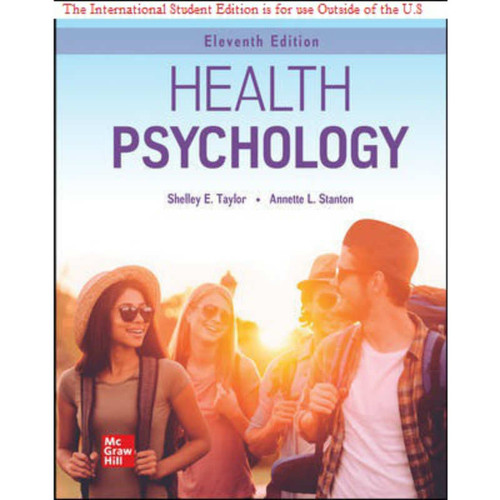 ISE Health Psychology (11th Edition) Shelley Taylor   9781260575392