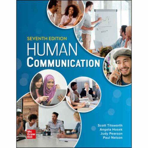 Human Communication (7th Edition) Judy Pearson | 9781260822878