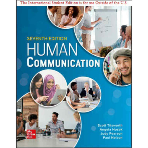 ISE Human Communication (7th Edition) Judy Pearson | 9781260570892