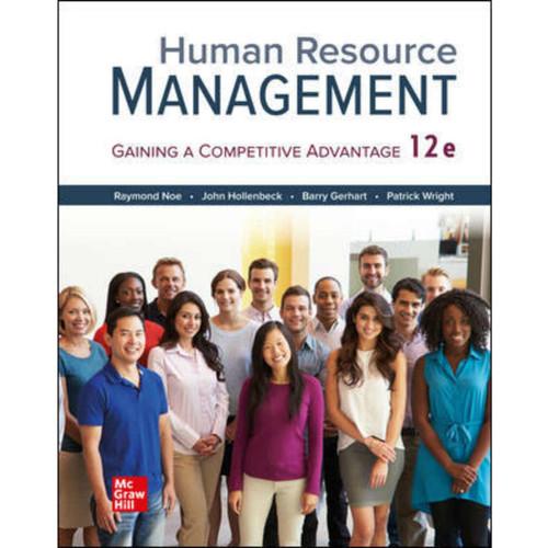 Human Resource Management (12th Edition) Raymond Noe   9781260262575