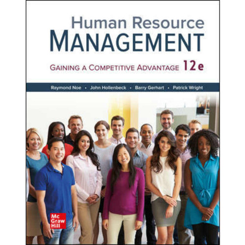 Human Resource Management (12th Edition) Raymond Noe | 9781260780765