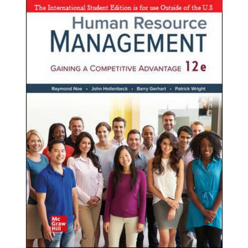 ISE Human Resource Management (12th Edition) Raymond Noe   9781260570748