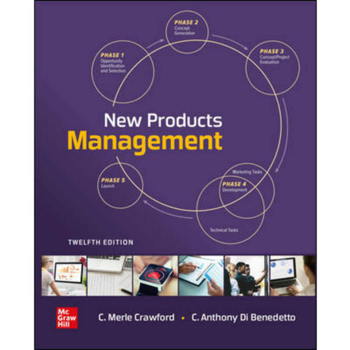 New Products Management (12th Edition) C. Merle Crawford and C. Anthony Di Benedetto   9781259911828