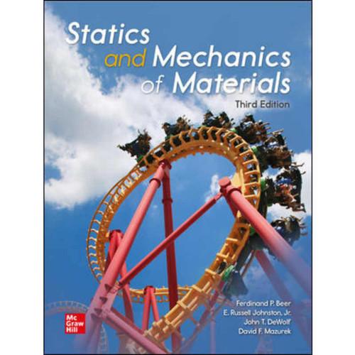 Statics and Mechanics of Materials (3rd Edition) Ferdinand Beer | 9781260226751