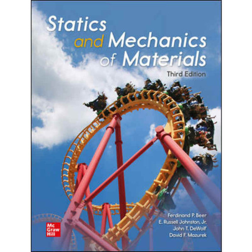Statics and Mechanics of Materials (3rd Edition) Ferdinand Beer | 9781260446432
