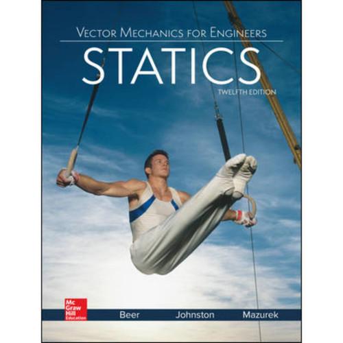 Vector Mechanics for Engineers: Statics (12th Edition) Ferdinand Beer | 9781259977275