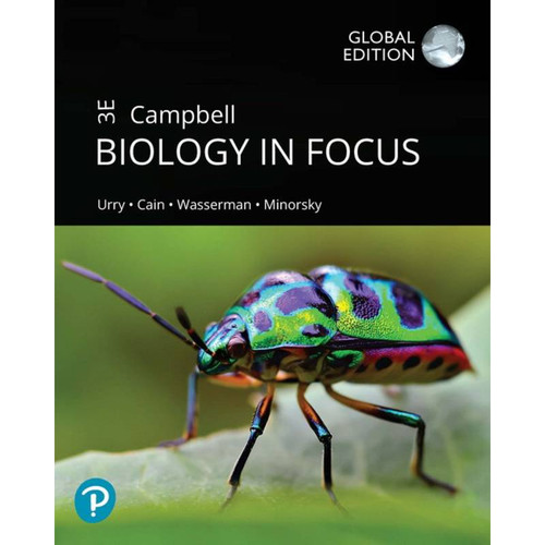 Campbell Biology in Focus (3rd Edition) Lisa A. Urry | 9781292324975
