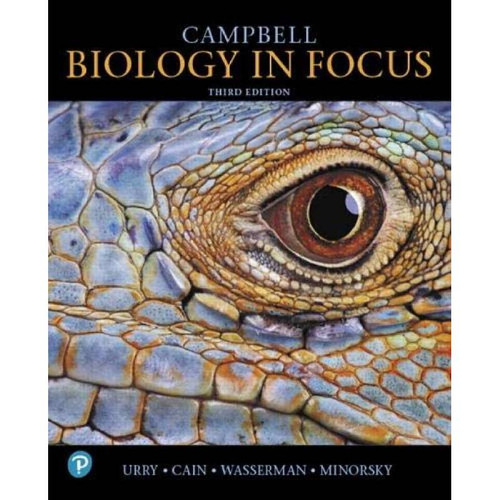 Campbell Biology in Focus (3rd Edition) Lisa A. Urry | 9780134710679