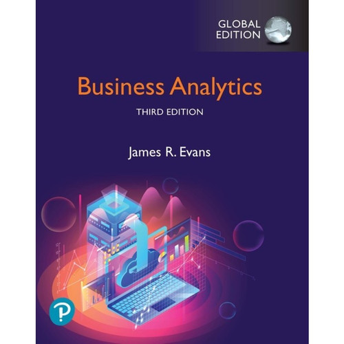 Business Analytics (3rd Edition) James R. Evans   9781292339061