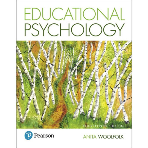 Educational Psychology (14th Edition) Anita Woolfolk | 9780134774329