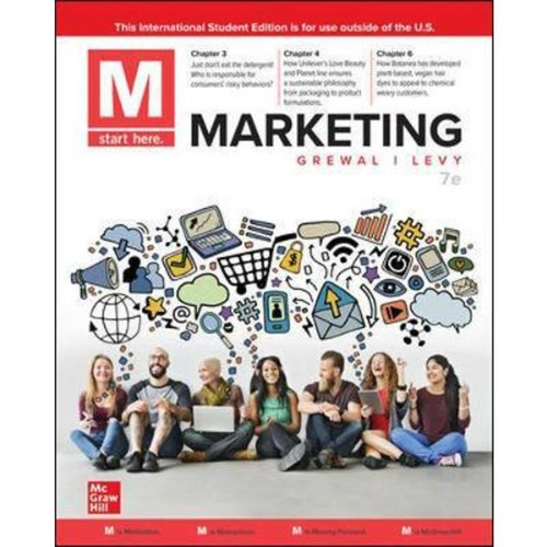 M: Marketing (7th Edition) Dhruv Grewal and Michael Levy | 9781260576009