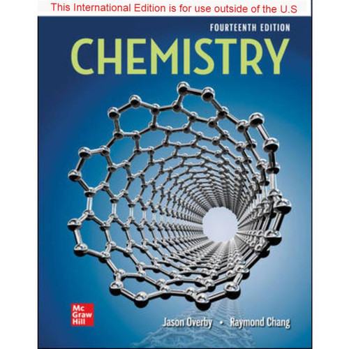 ISE Chemistry (14th Edition) Raymond Chang and Jason Overby | 9781265577568