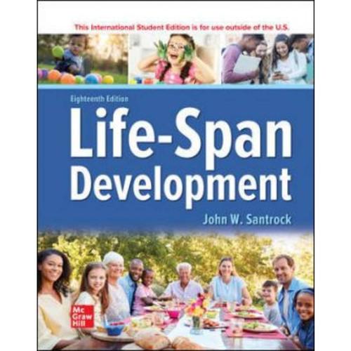 ISE Life-Span Development (18th Edition) John Santrock | 9781260571455