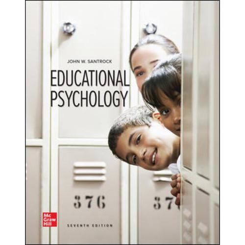 Educational Psychology (7th Edition) John Santrock LL | 9781260808759
