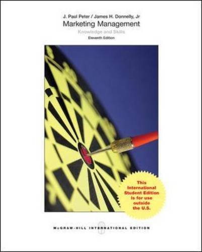 Marketing Management (11th Edition) Peter IE